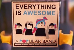 Popular Band album cover Lego Movie 2 The Second Part.png